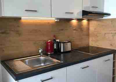 Fully equipped fitted kitchen
